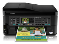 Epson WorkForce 545 Wireless Setup