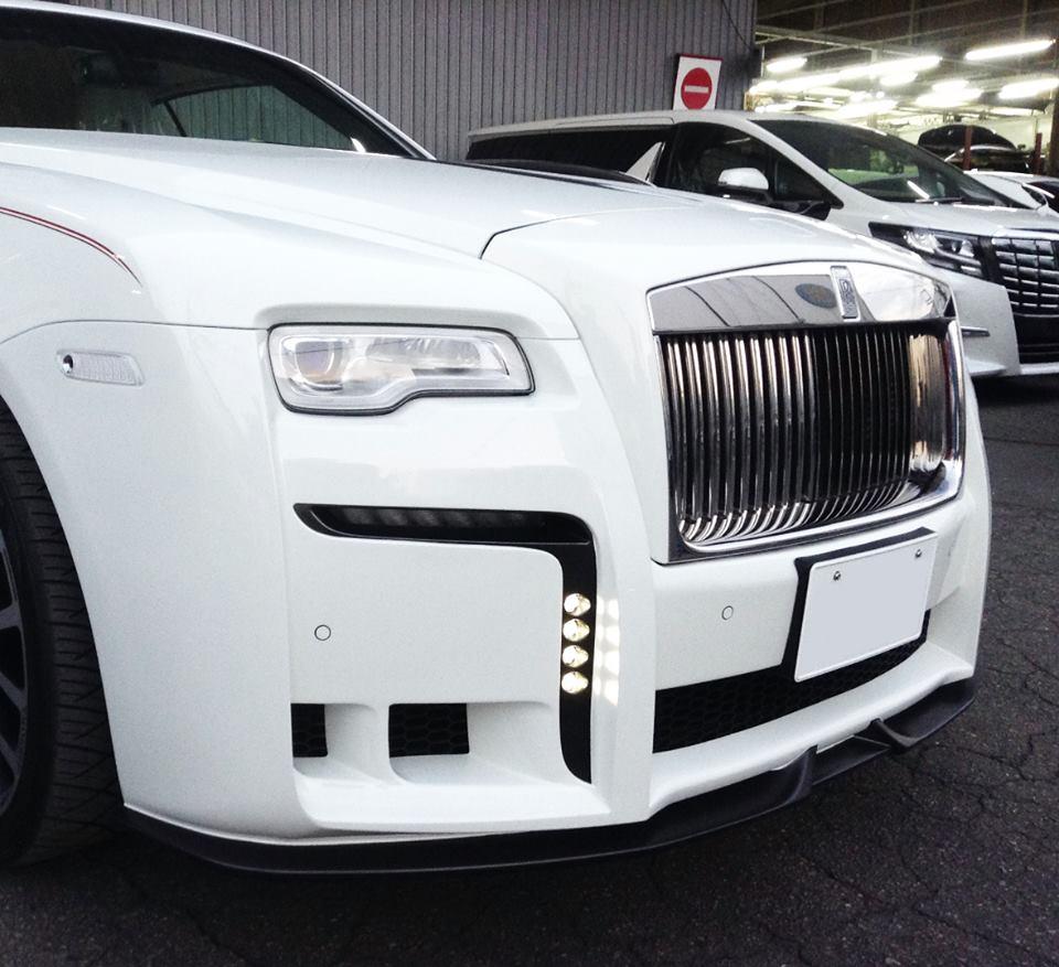 2017 Rolls Royce Dawn Transmission: Rolls-Royce Dawn Slips Into A Wald Costume For 2017 Tokyo