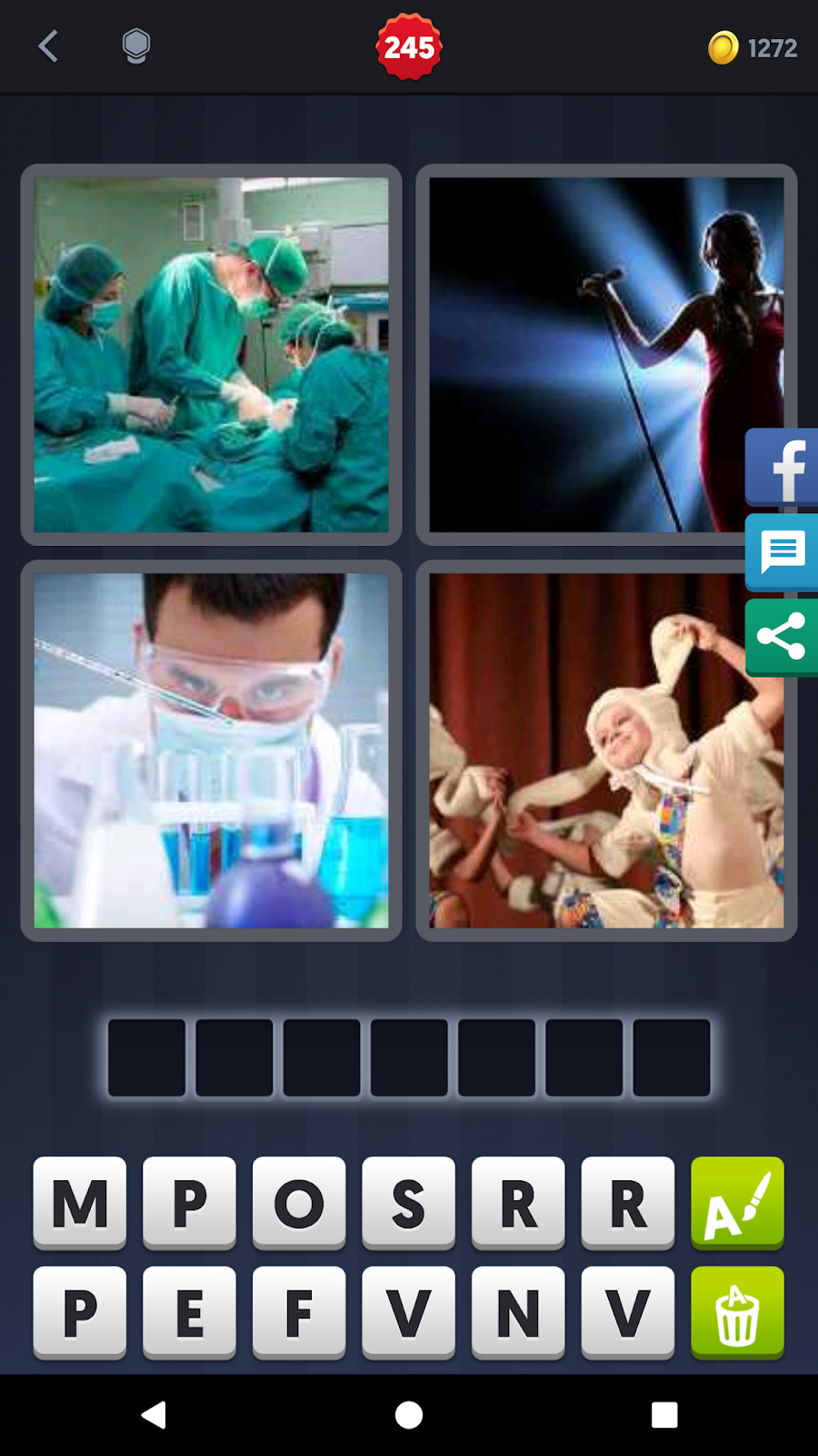 4 Pics 1 Word Answers 7 Letters Pt. 15