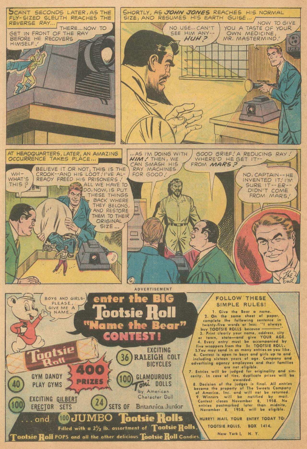 Read online Detective Comics (1937) comic -  Issue #261 - 32