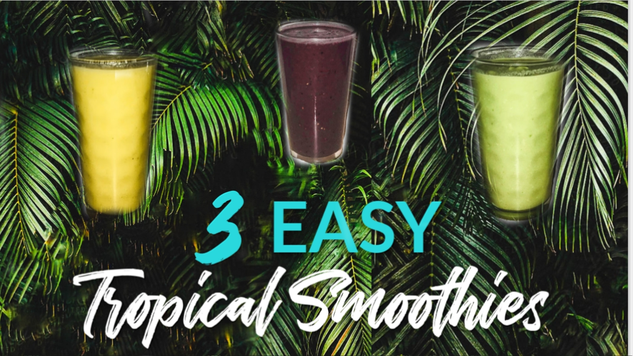 easy tropical smoothie recipes
