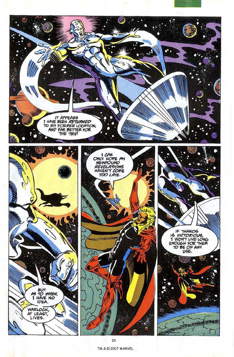Read online Silver Surfer (1987) comic -  Issue #58 - 31