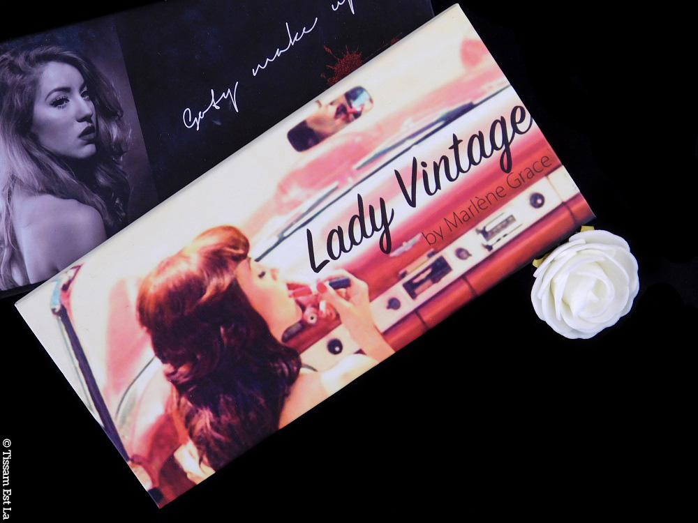 Marlene Grace - Lady Vintage Eyeshadow Palette - Paleta de Sombras de Ojos - Review & Swatches - Avis et Revue - GotyMakeUp - Ice on the Sea - palette pas chère