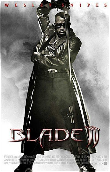 Poster Of Blade 2 (2002) 720p Hindi BRRip Dual Audio Full Movie Download