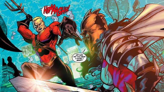 Sepak Terjang Aquaman dalam Komik DC