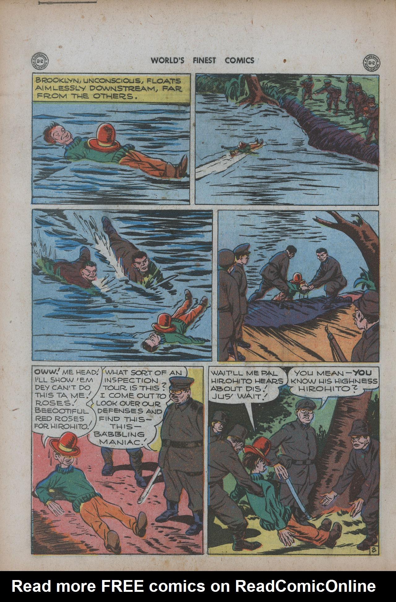 Read online World's Finest Comics comic -  Issue #20 - 42