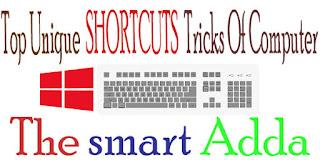 Computer Top Unique shortcuts tricks