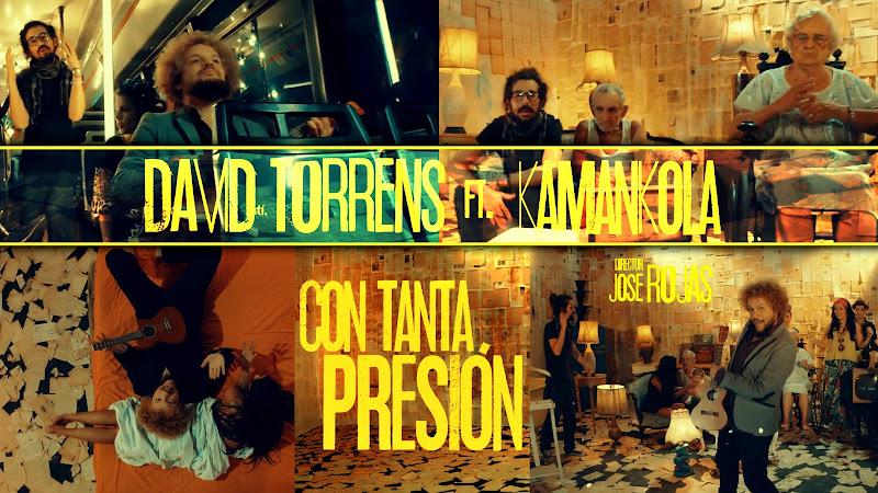 David Torrens & Kamankola - ¨Con tanta presión¨ - Videoclip - Dirección: Jose Rojas. Portal del Vídeo Clip Cubano