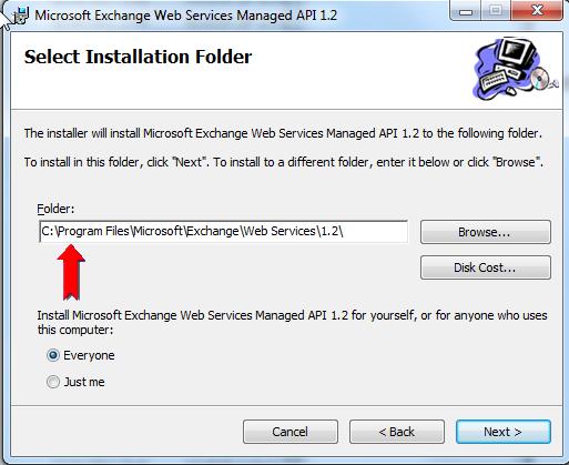 New exchangeservice(exchangeversion exchange2007_sp1) : Is