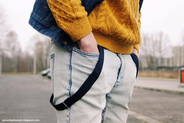 opuszczone szelki do spodni
