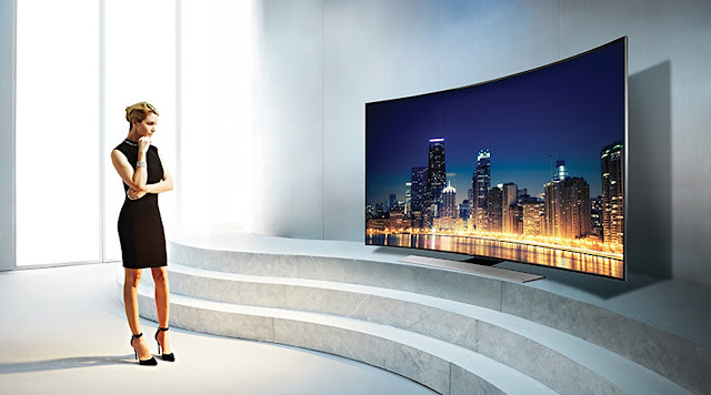 Comfortable Viewing Experience in curved TV