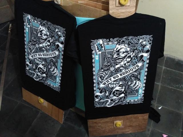 Jasa Pembuatan Kaos Sablon Satuan Murah Berkualitas Jogja