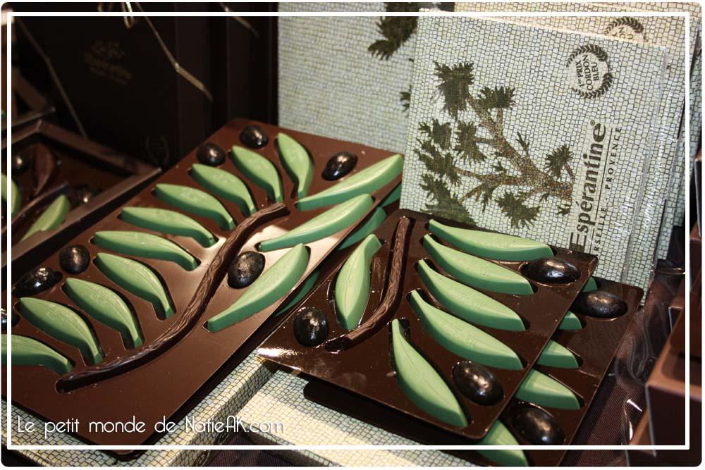 chocolat artisanale Espératine salon du chocolat