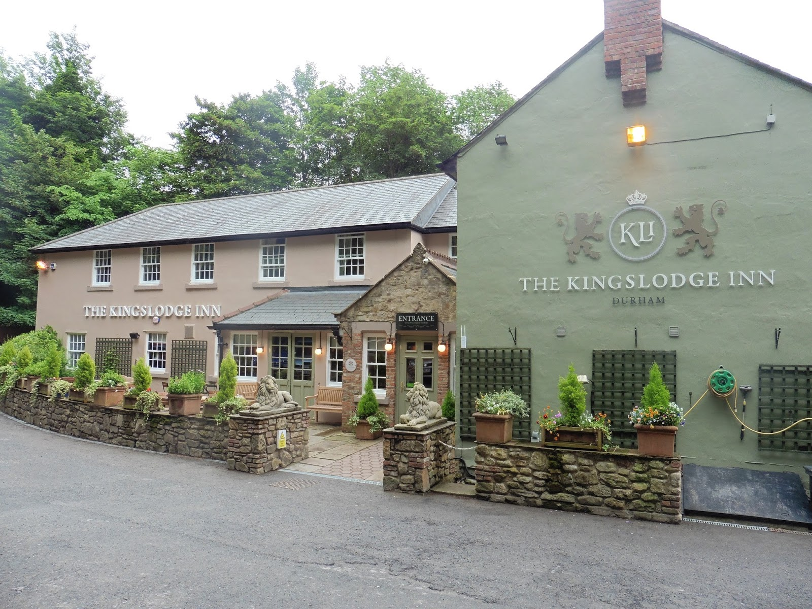 Kings Lodge Durham Restaurant Menu
