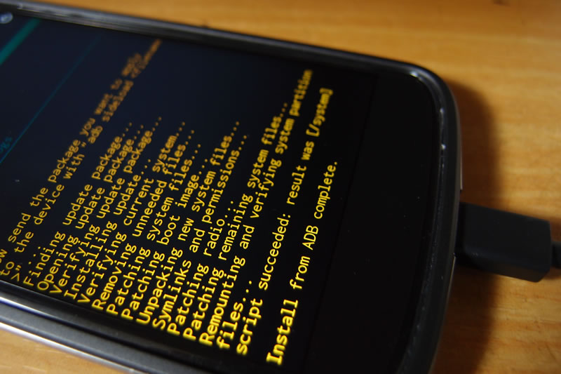 【Nexus4】Android 5.0.1 OTAリンクのzipからアップデート 11