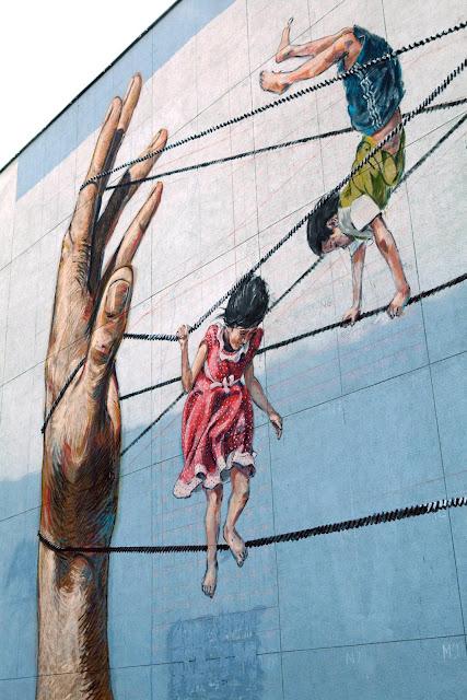 Street Art By Ernest Zacharevic For Vilnius Street Art Festival In Lithuania. 6