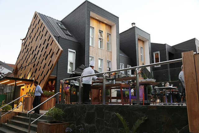 Restaurante do Hotel Casa Solaria em Pucón