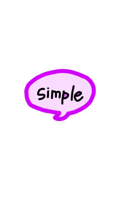 It's too simple 16