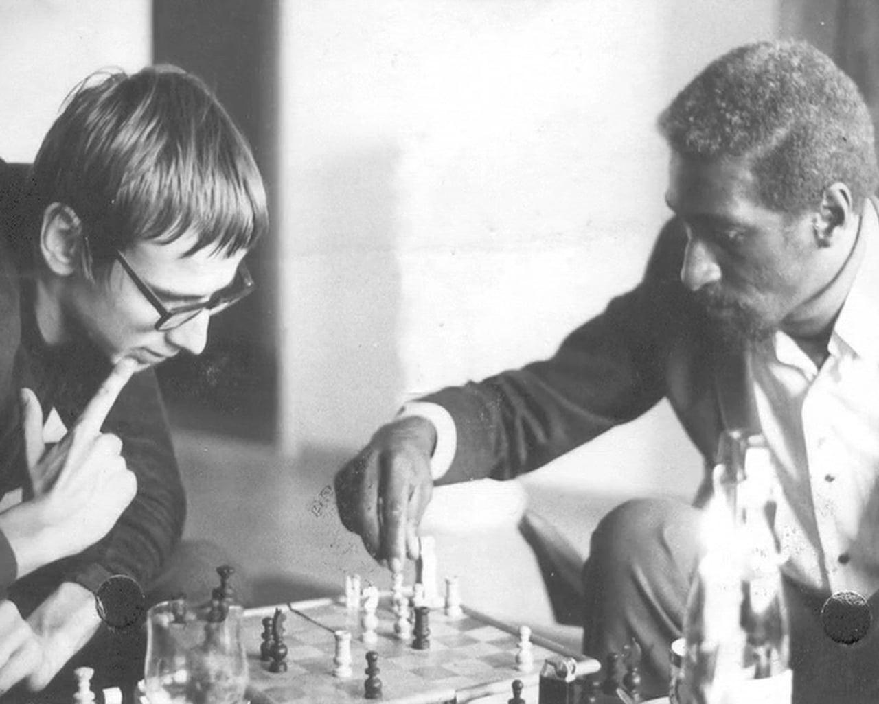 Christian Burchard y Max Waldron en 1970.