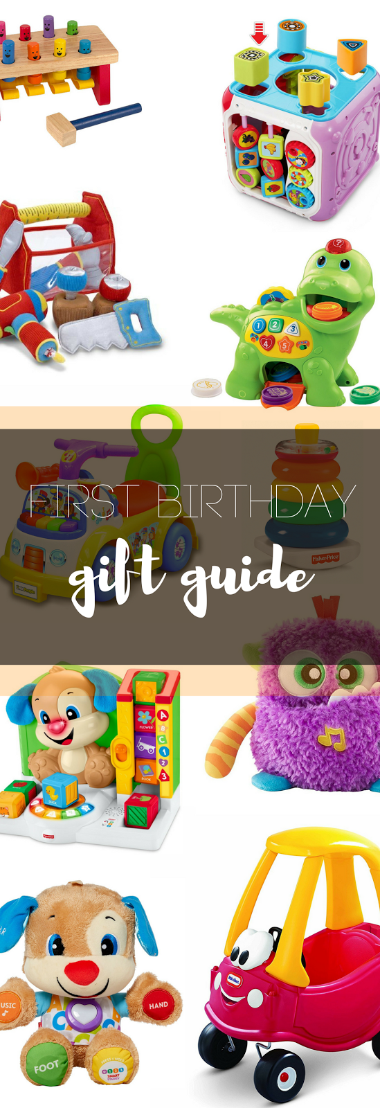 first birthday, gift guide, Christmas gifts, toddler gift guide, birthday gifts, gifts under $50, kids birthday, Toddler Christmas Gifts, one year old gifts, what to buy a baby