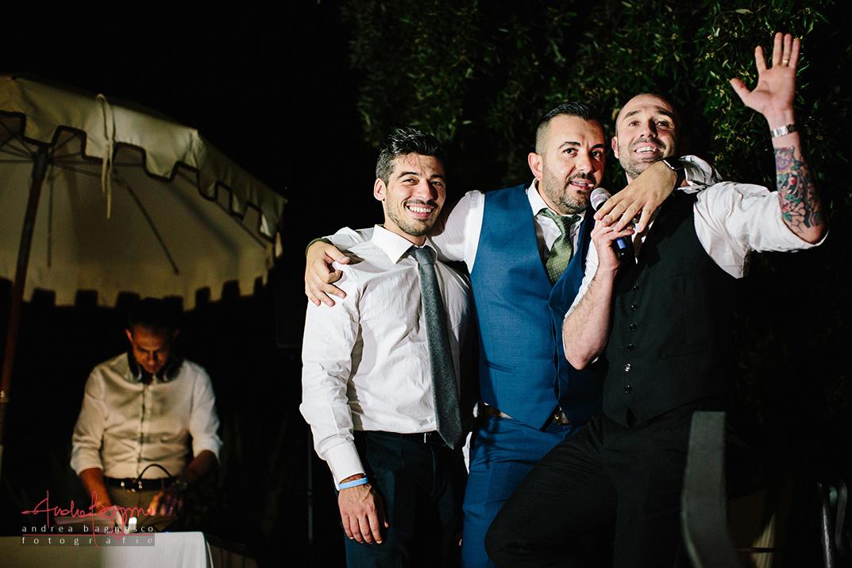 amici invitati matrimonio Genova