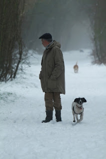 "Image ""Man And His Dog In The Snow"" courtesy of Tina Phillips at www.freedigitalphotos.net"