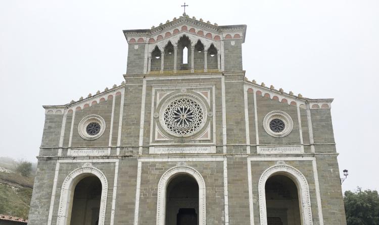 il Santuario di Santa Margherita a Cortona