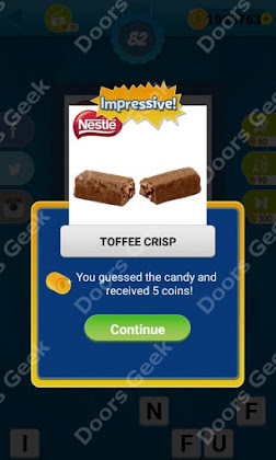 Answers, Cheats, Solutions for Guess the Candy Level 82 for android and iphone