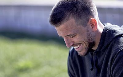 Camacho sonríe en una entrevista para MARCA Pepe Ortega MARCA