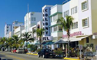 Avenida Ocean Drive Miami Beach. Mejor época del año para viajar a Miami. Cuáles son los mejores meses para visitar Miami