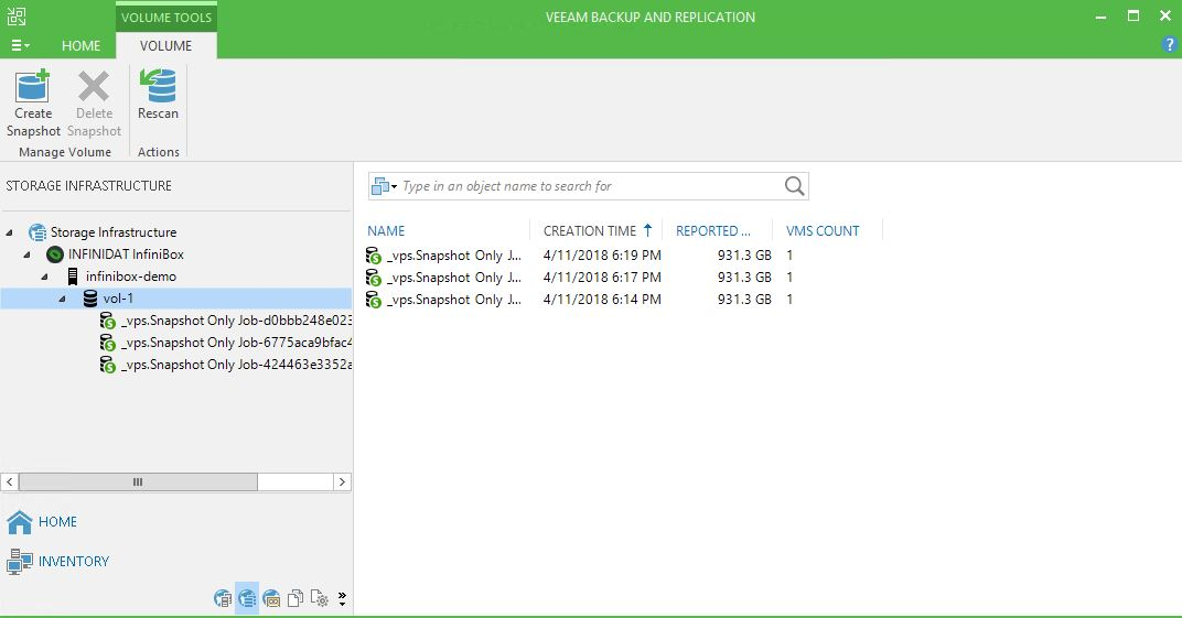 Sysadmin Stories: Veeam Backup and Replication - Infinidat Integration