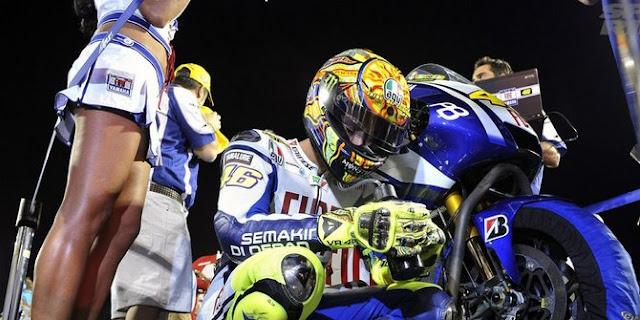 Ritual Unik Rossi MotoGP 2016