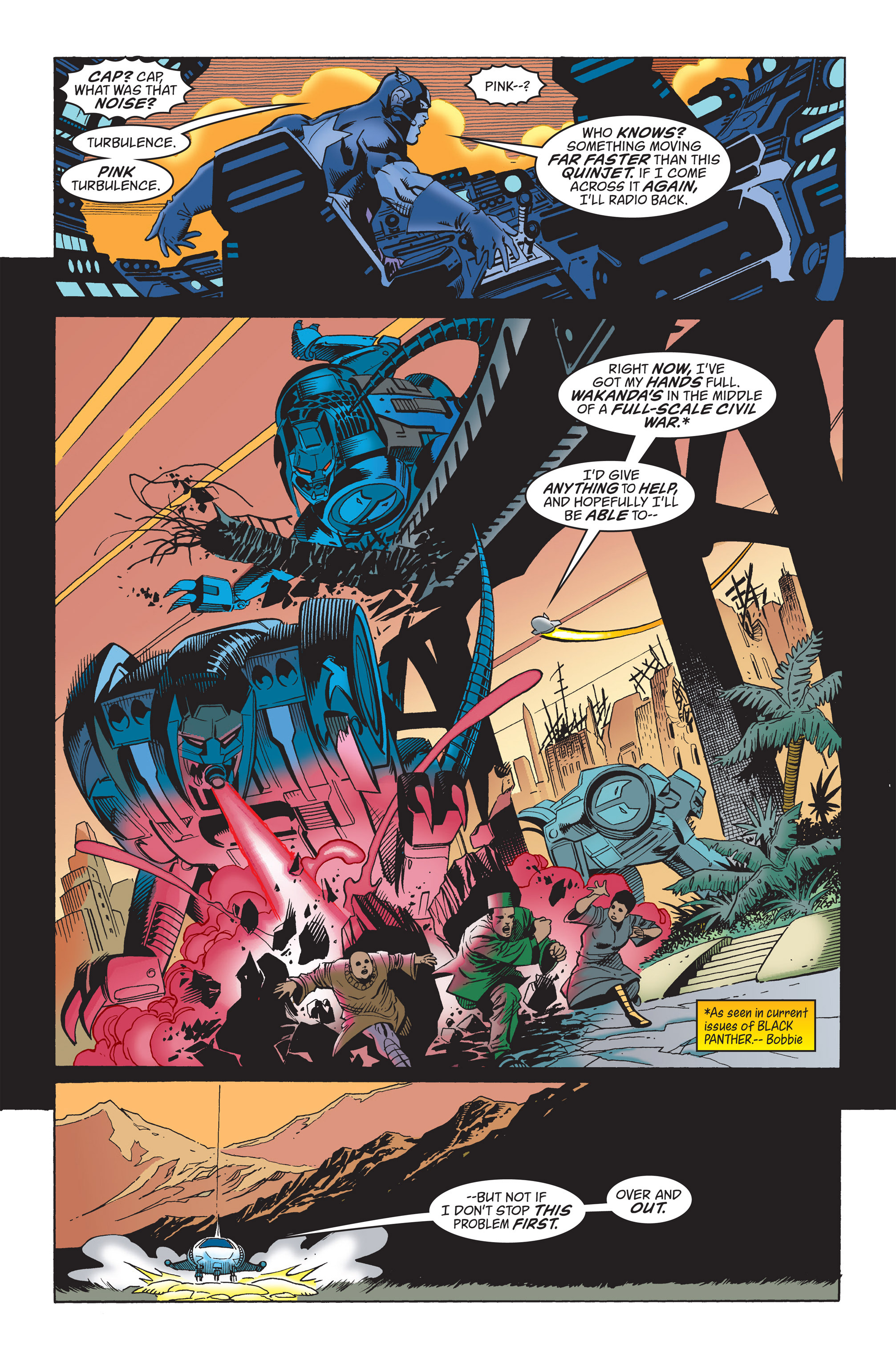Captain America (1998) Issue #22 #28 - English 4