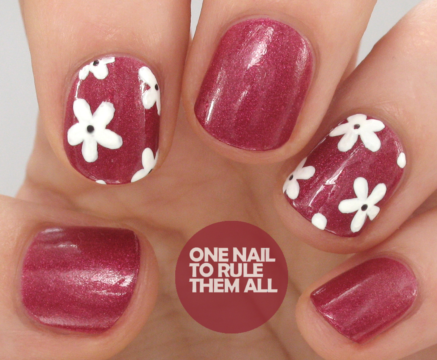 One Nail To Rule Them All Barry M Poppy Nail Art For Remembrance Day