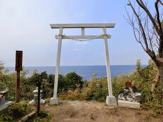 館山:洲崎神社富士見鳥居
