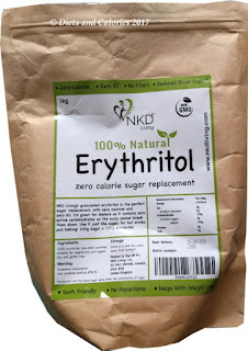 Erythritol sugar alternative NKD Living