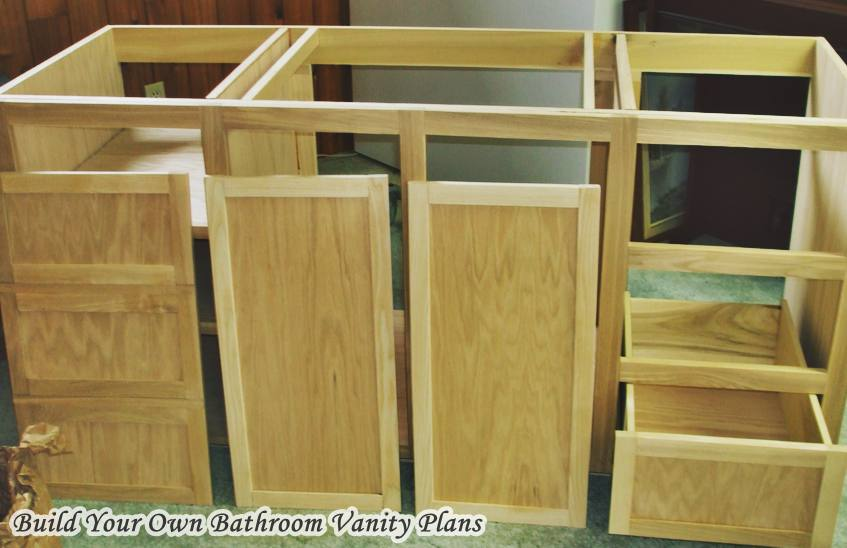 Build your own bathroom vanity plans hometiens for Build your own bathroom