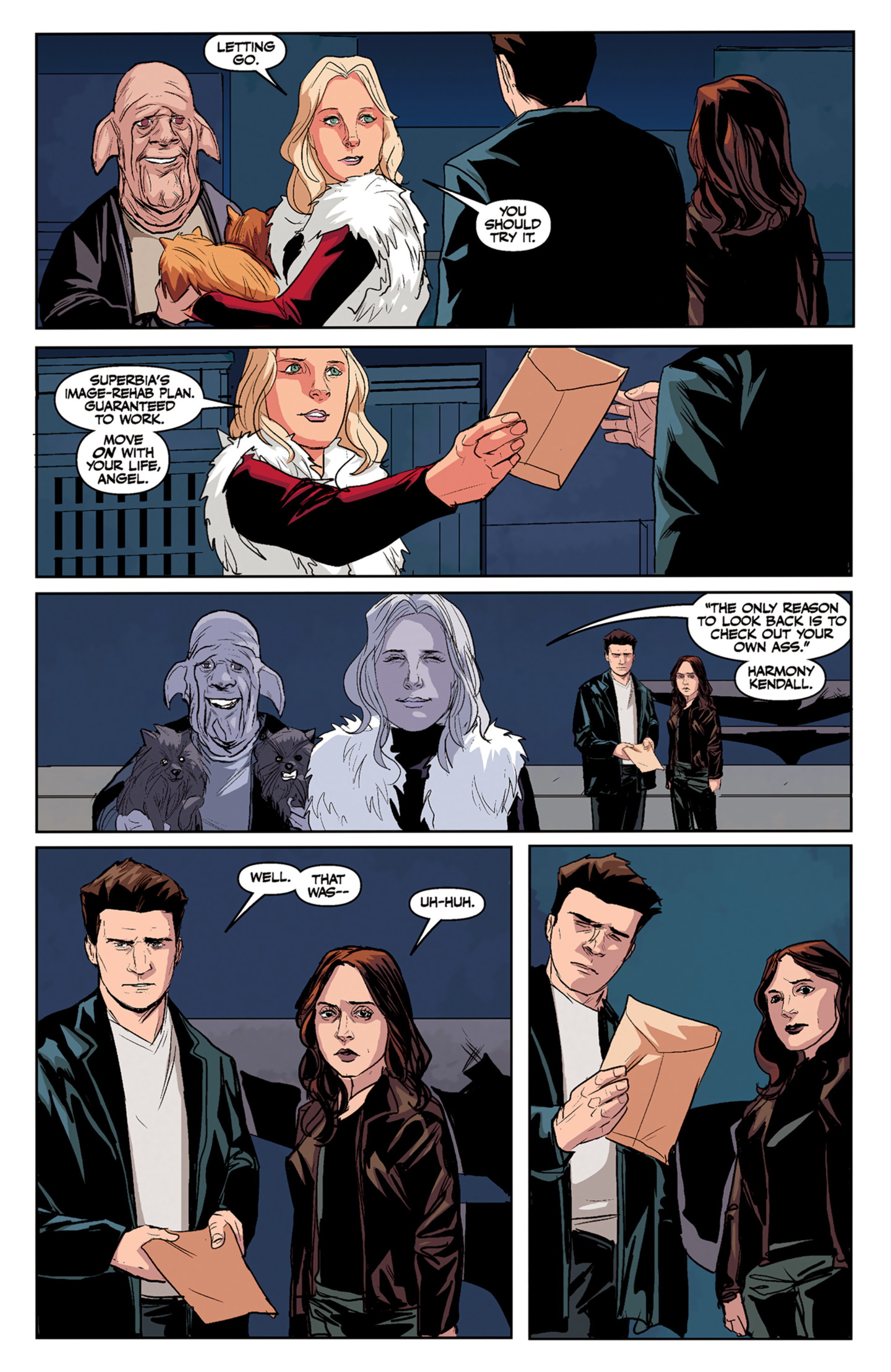 Read online Angel and Faith comic -  Issue #5 - 24