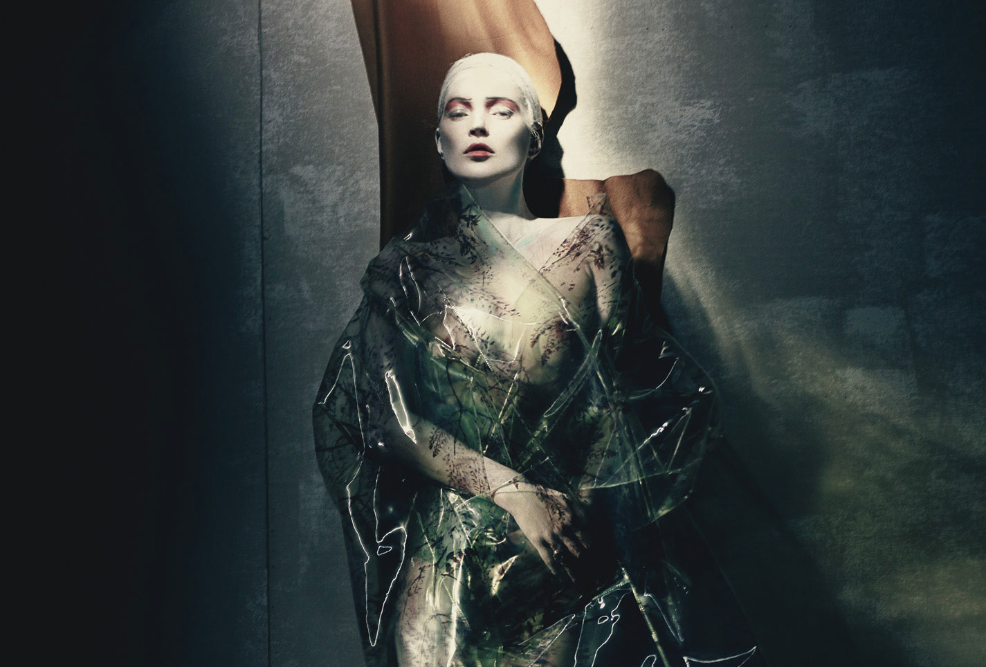painted lady: kate moss by paolo roversi for w april 2015
