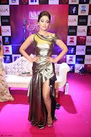 Shreya Saran in Skin Tight Golden Gown ~  Exclusive 016.JPG