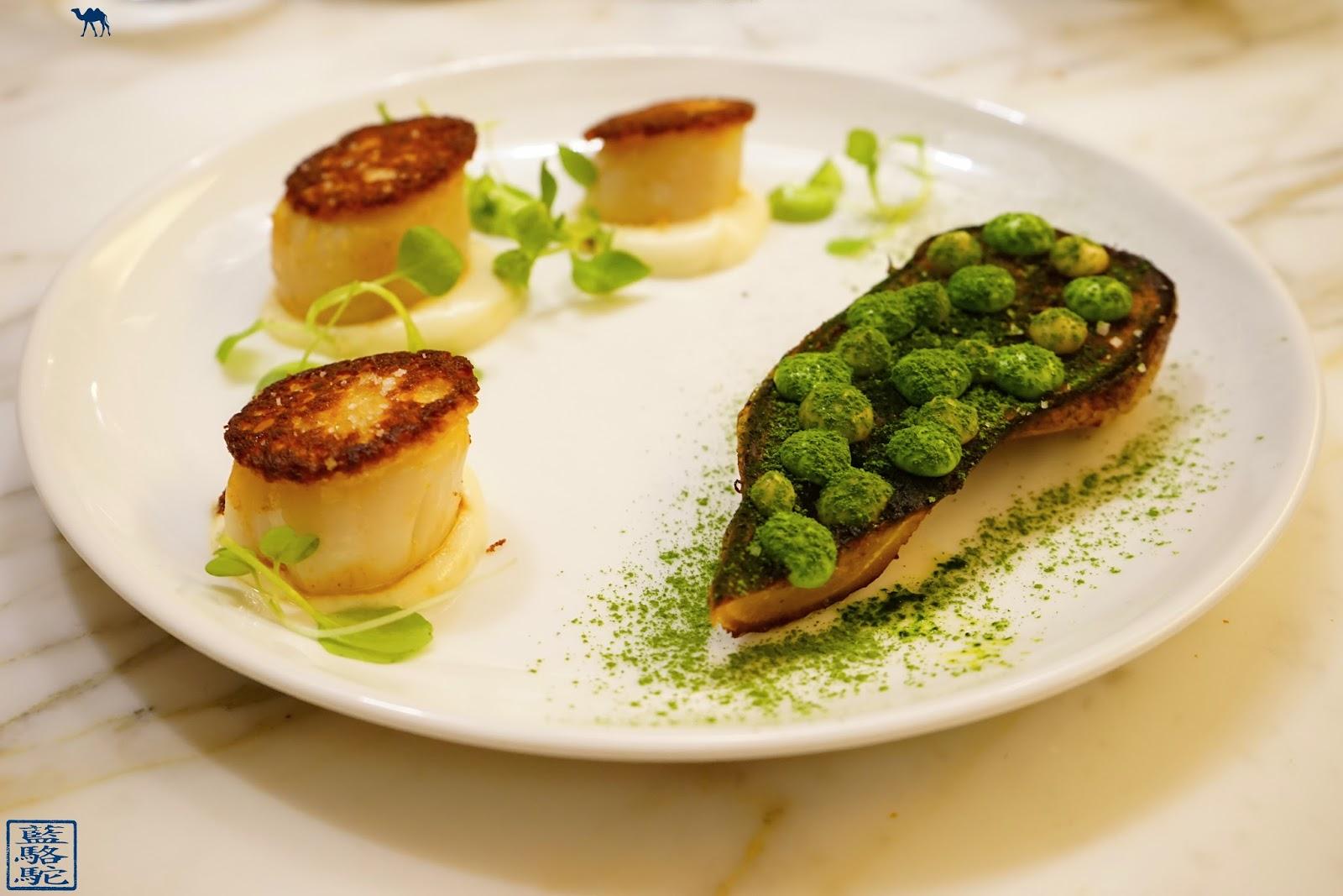 Le Chameau Bleu - Blog Restaurant Noglu Paris Saint Jacques, Persil Tubéreux, Anchois