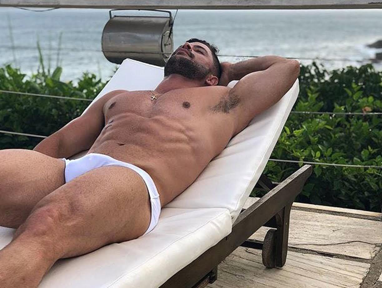Hunks relaxing