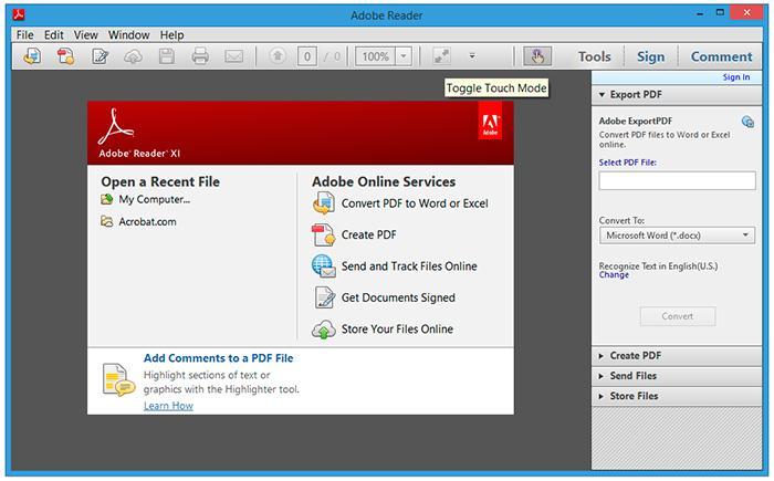 Adobe Pdf Winxp