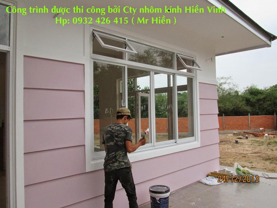 Cửa sổ lùa hệ 888 nhôm TungShin, YngHua, Tiger