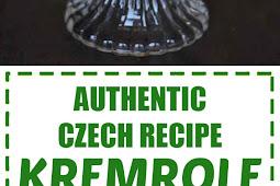 Authentic Czech Recipe Kremrole