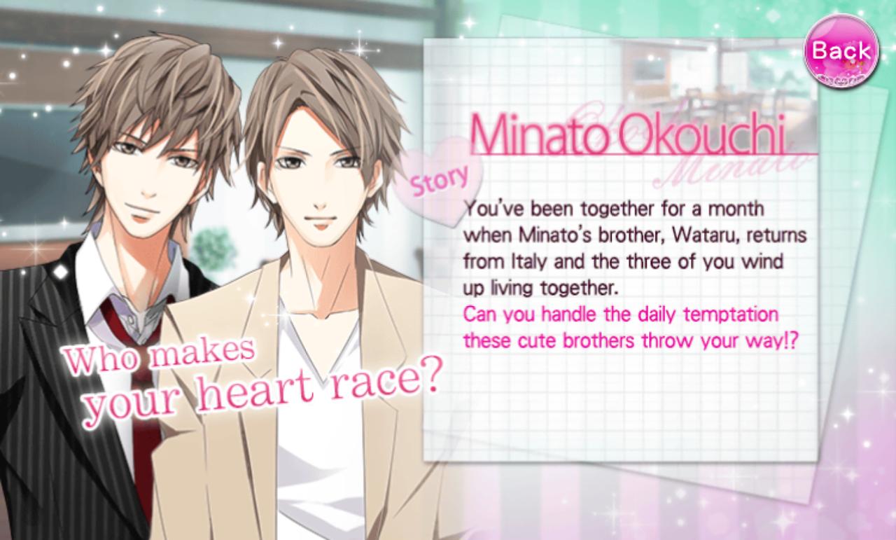 Otome Otaku Walkthrough Our Two Bedroom Story Minato Okouchi