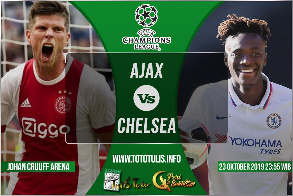 Prediksi Ajax vs Chelsea 23 Oktober 2019