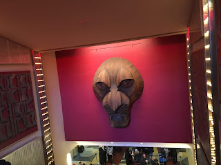 Minskoff theater escalators Lion King Broadway