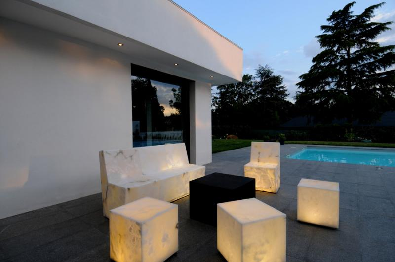 Alabaster Furnishings That Glow