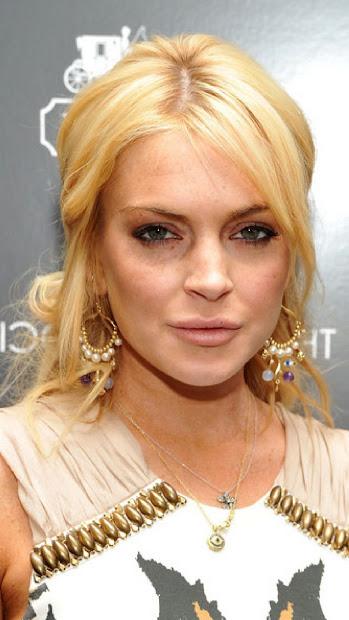celebrity hairstyles lindsay lohan